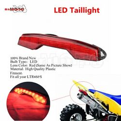 Plastic Led Bulb Rear Taillight Brake Lamp Assembly For Suzuki Ltr450and039s All Year