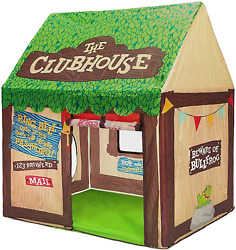 Swehouse Clubhouse Tent Kids Play Tents For Boys School Toys For Indoor And With