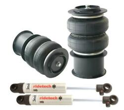 Ridetech 2015-2020 Ford Mustang Rear Coolride Air Springs And Shocks 12274010