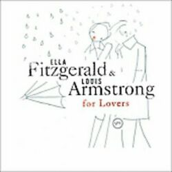 Ella amp; Louis For Lovers Ella Fitzgerald amp; Louis Armstrong Audio CD Used Very $6.48