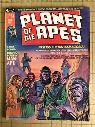 Planet Of The Apes 1, August 1974, Larkin Cover, Ungraded Magazine