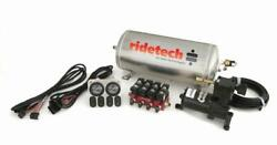 Ridetech 3 Gallon Analog Air Ride Compressor Leveling System 30154000