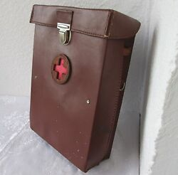 15 Antique Vintage Rare Russian Soviet Ussr Military Field Medic First Aid Bag