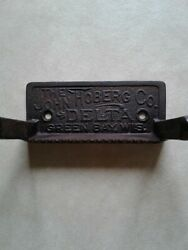 Antique Cast Iron Paper Holder From The John Hoberg Company, Green Bay, Wi. 1895