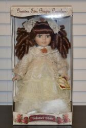 Collectorand039s Choice Genuine Fine Bisque Porcelain Doll Limited Edition 12
