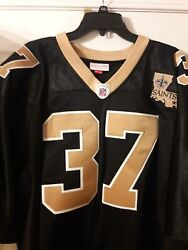 Authentic Steve Gleason New Orleans Saints 2006 Mitchell And Ness Jersey Sz 56 Mandn