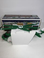 Hess 2012 Helicopter And Rescue Truck W/lights And Sound New