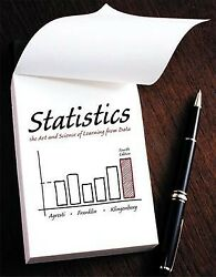Statistics The Art And Science Of Learning From Data Hardcover By Agresti...