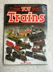 Old Vintage Toy Trains Book From England 1985