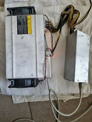 Asic Antminer L3+ With Psu Apw3+
