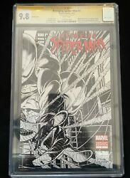 Avenging Spider-man 1 Sketch Signed By Stan Lee Cgc 9.8 1147252001