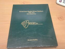 1986-2011 American Silver Eagle Mint State Collection In Intercept Shield Binder