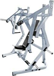 French Fitness Napa P/l Iso-lateral Flat Chest Bench Press New