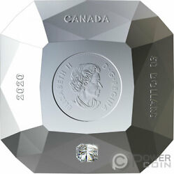 Forevermark Diamond 3d Shaped Silver Coin 50 Canada 2020