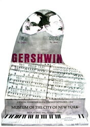 100 Larry Rivers 1995 Gershwin Brothers Affiches