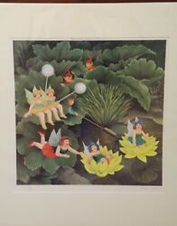 Fairies And Pixies Beryl Cook Signed Limited Edition Lithographic Print