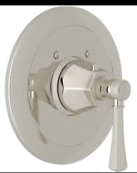 Rohl We2327lm Wellsford Brass 7-1/16 Thermostatic Valve Trim Only