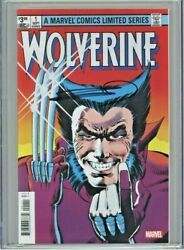 Wolverine Limited Series Facsimile Edition 1 Cgc 9.8 Signed Frank Miller