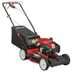 21 Inch 159cc Gas Powered Fwd Self Propelled Lawn Mower Variable Speed With Bag