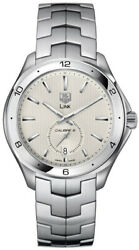 Brand New Tag Heuer Link Wat2111.ba0950 Auto Calibre 6 Silver Luxury Mens Watch