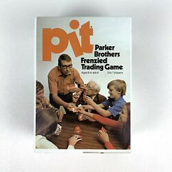 Pit Vintage Card Game Parker Brothers Frenzied Trading Commodities 1973 No. 661