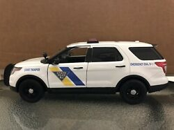 New Jersey State Police 1/24 Scale Diecast Model Nonlighted Unit Ford Explorer