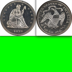 1873 Ngc Pr65 52,000 For Ms62 🔴 600 Minted ✅ Closed 3 Seated Quarter ✅ Key 25c
