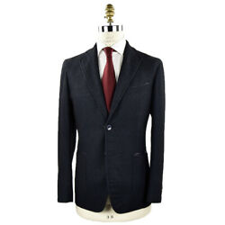 New Zilli Blazer For Men Wool Silk Cashmere And Ea Sz 42 Us 52 Eu R8 Zbv14
