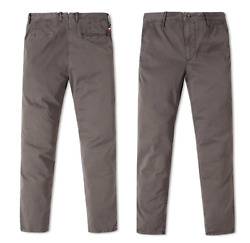 Incotex Italy Iconic Slacks Stretch Cotton Slim Fit Trousers Pants Chinos