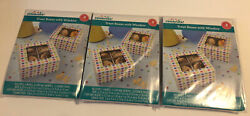 Lot Of 3 Way To Celebrate Treat Boxes With Window Boxes 3 Count New