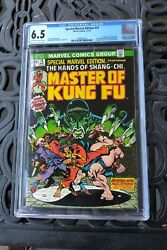 Special Marvel Edition 15 Master Of Kung Fu Cgc 6.5 Ow/w 1st App Shang Chi Mcu
