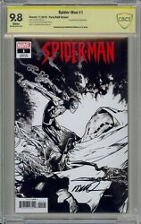 Spiderman 1 One Per Store Ramos Variant Signed By Humberto Ramos 9.8
