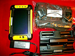 Trimble Yuma Tablet Pc Gps Data Collector Arc Pad Ducking Charger Case Topcon