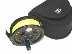 Hardy Sovereign 2000 6 Fly Reel No174 Rio Line And Case.