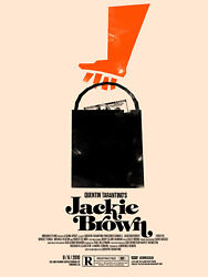 Olly Moss Jackie Brown - Limited Edition Print Poster Mondo Rolling Roadshow