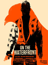 Olly Moss On The Waterfront - Limited Edition Print Poster Mondo Roadshow Rare
