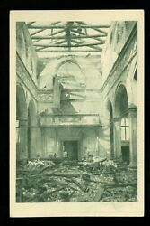 Italy Postcard Set Of 6 Views Of Venice During Wwii Military Disaster Ruins