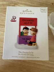 Hallmark Keepsake Christmas Ornament The Doctor Is In The Peanuts Gang 2010