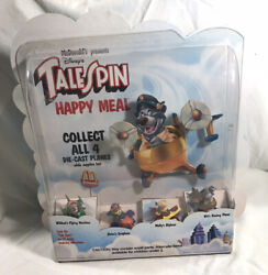 """Vintage 1990 Mcdonald's Disney Talespin Happy Meal Toy Store Display 16"""" Tall"""
