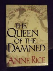Anne Rice The Queen Of The Damned First Edition 1998