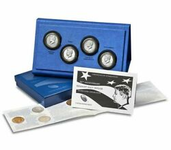 50th Anniversary Jfk Kennedy 2014 Reverse Proof 90 Silver Coin Set K13 Us Mint