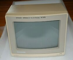 Commodore Amiga 1084s Vintage Crt Color Monitor 1989 -tested -