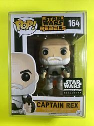 Captain Rex Rebels Funko Pop 164 Star Wars Smugglers Bounty With Protector