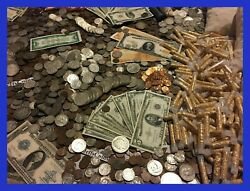 ✯ESTATE LOT OLD US COINS ✯GOLD .999 SILVER BARS BULLION✯ MONEY HOARD PCGS OLD✯