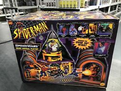 Spider-man Animated Series Crime Central Playset 1996 Sealed Toy Biz