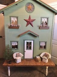 """Huge Doll Or Teddy Bear House W/ Stables For 12""""-18"""" Crissy Doll - American Girl"""