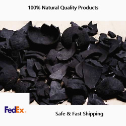 Pure Coconut Shell Charcoal And Organic Activated Carbon Chips Fedex Fast Delivery