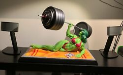She Hulk Muscle Beach Limited Custom 1/4 Statue Low Ed -not Xm Prime1 Sideshow