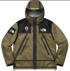 Supreme The Summit Series Outer Tape Seam Jacket Olive Xl Ss21
