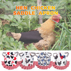 Protection Chicken Saddles Pet Feather Protector Clothes Gardening supplies
